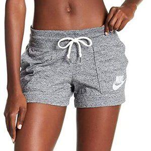 Nike Grey Loungewear Workout Gym Shorts